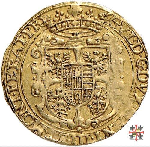 Scudo d'oro croce filettata/stemma Mantova-Casale  (Casale)