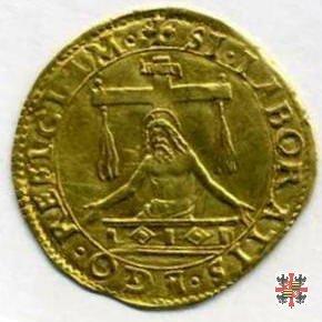 Scudo d'oro con il Cristo risorgente  (Mantova)