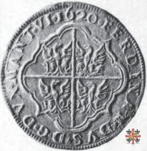 Sei doppie con il doppio stemma 1620 (Mantova)