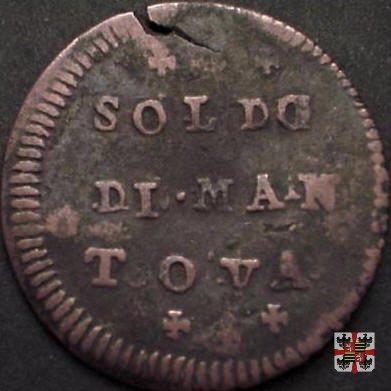 Soldo 1754 (Mantova)