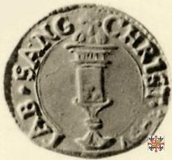 Soldo con il reliquiario  (Mantova)