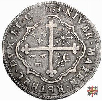 Tallero con la croce trilobata 1633 (Mantova)