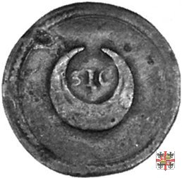 Tessera con motto SIC  (Mantova)