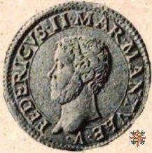 Testone col marchese a cavallo  (Mantova)