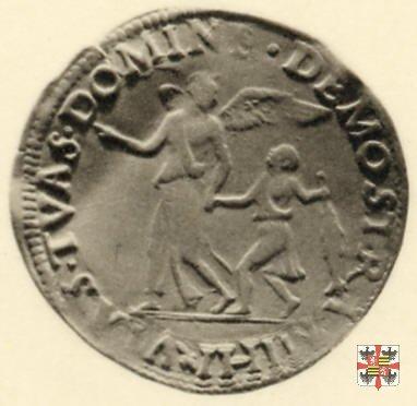 Testone leggero con Tobia e l'arcangelo Raffaele  (Mantova)