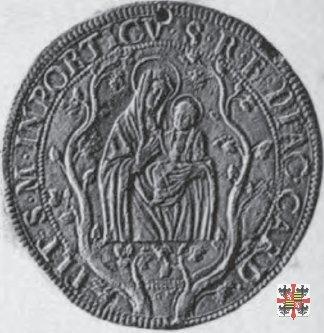 Triplo ducatone con Madonna di S.M. in Campitelli 1614 (Mantova)