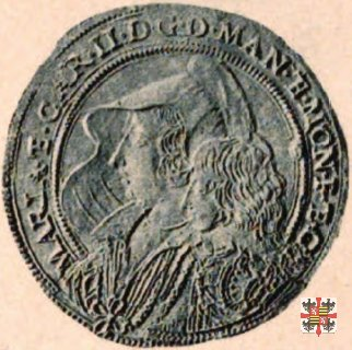 Triplo ducatone con la Madonna delle Grazie  (Mantova)