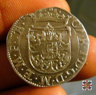 Lira con Santa Lucia 1633 (Mantova)