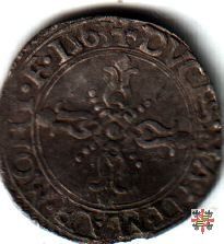 Soldo con la croce ornata 1563 (Casale)