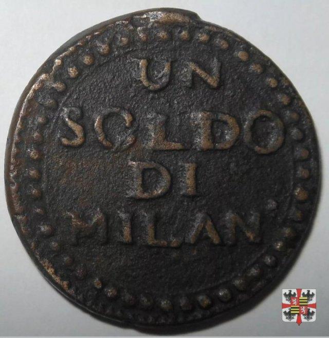 Soldo di Milano 1799 (Mantova)