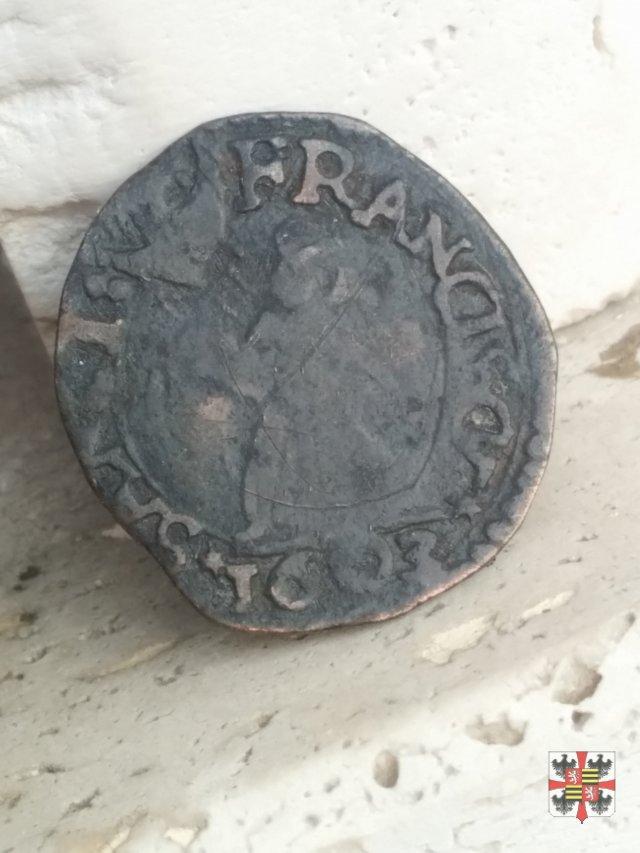 Parpagliola o cavallotto con San Francesco 1603 (Casale)